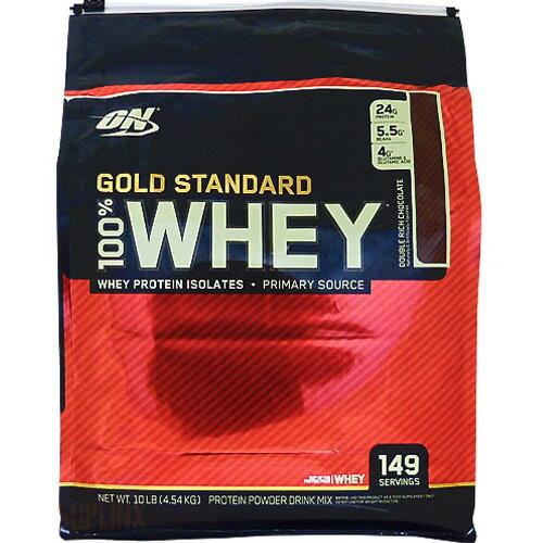 [ 超大容量4.5kg ] 100%ホエイ ゴールドスタンダード プロテイン ※ダブルリッチチョコレート