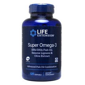 スーパーオメガ3 EPA/DHA&ゴマリグナン+オリーブエキス 120粒