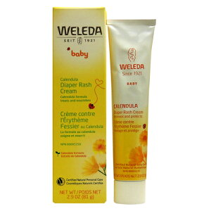 WELEDA カレンデュラ ダイパーラッシュクリーム(おむつまわり用クリーム) 81g ベビー用品 衛生用品 ヘルスケア用品 ベビークリーム WELEDA ヴェレダ サプリンクス