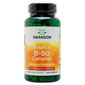 バランス ビタミンB50 100粒(ビタミンB群サプリメント) サプリメント 健康サプリ サプリ ビタミン ビタミンB群 栄養補助 栄養補助食品 アメリカ カプセル