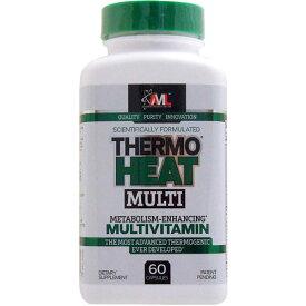 サーモヒートマルチ (燃焼成分配合マルチビタミン) 60粒 フォルスコリ