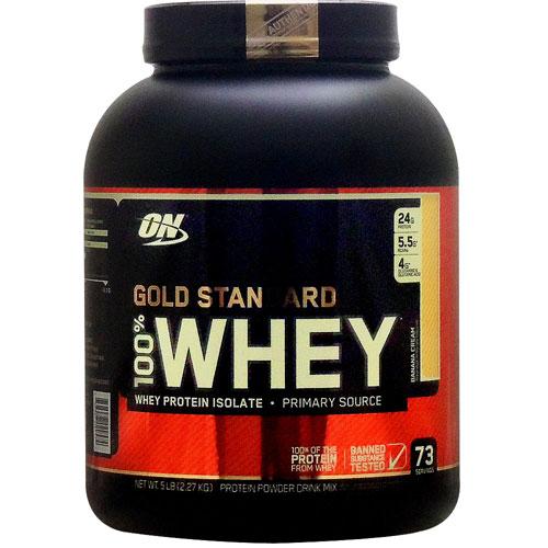 [ 大容量約2.3kg ] 100%ホエイ ゴールドスタンダード プロテイン ※バナナクリーム