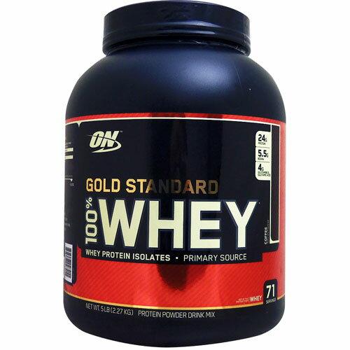 [ 大容量2.3kg ] 100%ホエイ ゴールドスタンダード プロテイン ※コーヒー