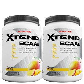 【2個セット】[香港発送]<マンゴー> [ 大容量約1.2kg ] エクステンド (BCAA+Lグルタミン+シトルリン)