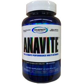 Gaspari Nutrition ガスパリニュートリション Anavite アナバイト(アスリート用マルチビタミン&ミネラル)180粒