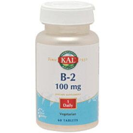 ビタミンB2 100mg 60粒 [サプリメント/健康サプリ/サプリ/ビタミン/ビタミンB2/栄養補助/栄養補助食品/アメリカ/タブレット/サプリンクス]