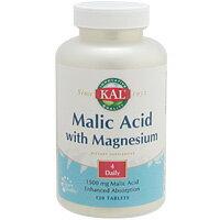 リンゴ酸&マグネシウム 120粒 [サプリメント/健康サプリ/サプリ/ミネラル/マグネシウム/栄養補助/栄養補助食品/アメリカ/タブレット/サプリンクス] ¬