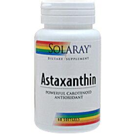 アスタキサンチン 1mg 60粒 健康食品 栄養調整食品 アスタキサンチン SOLARAY ソラレー サプリンクス