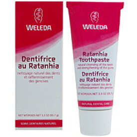WELEDA ヴェレダ ピンクハミガキペースト(ラタニア配合 活き活き歯ぐき) デンタルケア 歯磨き粉 WELEDA ヴェレダ サプリンクス