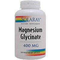 マグネシウム 400mg(グリシン結合) 120粒 [サプリメント/健康サプリ/サプリ/ミネラル/マグネシウム/SOLARAY/ソラレー/栄養補助/栄養補助食品/ロコモ/アメリカ/カプセル/サプリンクス]