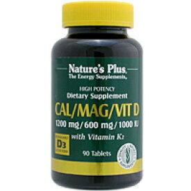 カルマグ ビタミンD3&ビタミンK2(カルシウム&マグネシウムを2:1の黄金バランスで) 90粒 サプリメント 健康サプリ サプリ ミネラル カルシウム 栄養補助 栄養補助食品 アメリカ タブレット サプリンクス