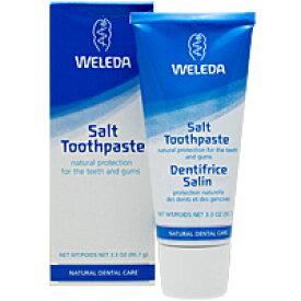 WELEDA ヴェレダ ソルト(塩) ハミガキ ペースト(WELEDA社の歯磨き粉を激安で) デンタルケア 歯磨き粉 サプリンクス