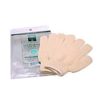 ekusuforieteringuhaidorobasugurobu(手套型公共汽车海绵)[洗浴用品/身体毛巾/手套/手套]