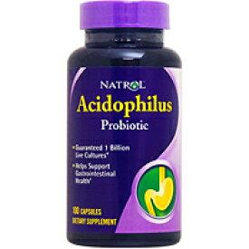 アシドフィルス 100mg(1粒に10億個乳酸菌含有) 100粒 サプリメント 健康サプリ サプリ 乳酸菌 アシドフィルス菌 栄養補助 栄養補助食品 アメリカ カプセル サプリンクス