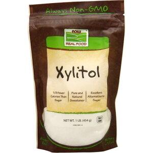 キシリトール 100%ピュア(砂糖代替甘味料) 454g(1lb) ダイエット ダイエットフード now ナウ パウダー サプリンクス