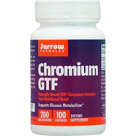 クロミウム GTF(GTFクロム) 200mcg 100粒 サプリメント 健康サプリ サプリ ミネラル クロム 栄養補助 栄養補助食品 アメリカ カプセル