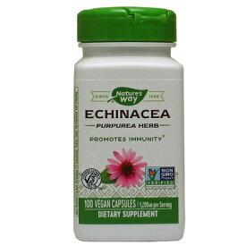 エキナセア(エキナシア) 400mg 100粒 [サプリメント/健康サプリ/サプリ/植物/ハーブ/エキナセア/栄養補助/栄養補助食品/アメリカ/カプセル]