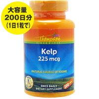 ケルプ(ヨウ素/ヨード 225mcg)200粒 [サプリメント/健康サプリ/サプリ/ミネラル/ヨウ素/栄養補助/栄養補助食品/アメリカ/タブレット]