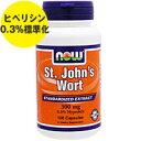 セントジョーンズワート 300mg (ヒペリシン0.3%標準化)100粒[サプリメント/健康サプリ/サプリ/植物/ハーブ/セントジョーンズワート/now/ナウ/...