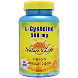 Lシステイン 500mg 100粒 サプリメント 健康サプリ サプリ アミノ酸 栄養補助 栄養補助食品 アメリカ カプセル サプリンクス