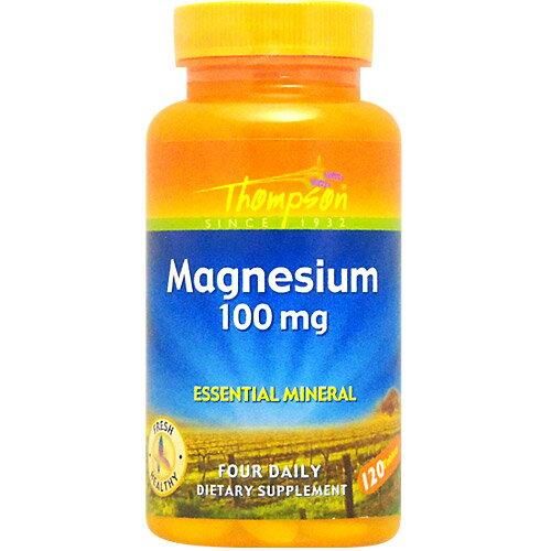 マグネシウム 100mg 120粒 [サプリメント/健康サプリ/サプリ/マグネシウム/サプリンクス]