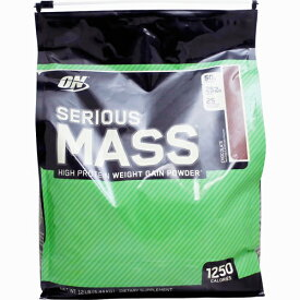 【送料無料】[ 超大容量5.4kg ]シリアスマス ウェイトゲイナー ※チョコレート [オプティマム/オプチマム ]【weight gainer】