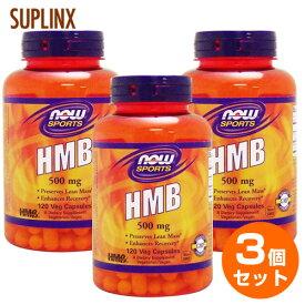 【送料無料】【3個セット】HMB 500mg 120粒071-02054 [ロコモ] アミノ酸