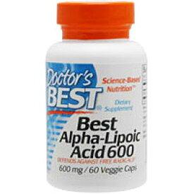 ベスト アルファリポ酸 600mg 60粒