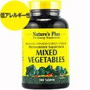 ミックスベジタブル 180粒[サプリメント/健康サプリ/サプリ/植物/ハーブ/Nature'sPlus/ネイチャーズプラス/栄養補助/…