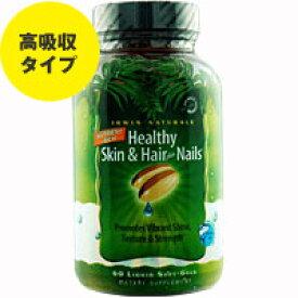 ヘルシー スキン&ヘアー プラス ネイル 60粒 サプリメント 健康サプリ サプリ ビタミン ビタミンC 栄養補助 栄養補助食品 アメリカ ソフトジェル