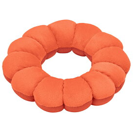 フランスベッド株式会社  スリープバンテージ フルール オレンジ 1個<ドーナツ型座布団・枕>(商品発送まで6-10日間程度かかります)(この商品は注文後のキャンセルができません)