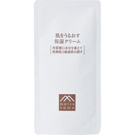 松山油脂株式会社肌をうるおす保湿 クリーム 詰替用 45g×3個セット