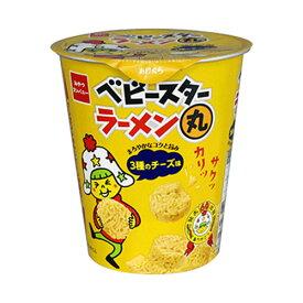株式会社おやつカンパニーベビースターラーメン丸(3種のチーズ味)(59g)×24個セット