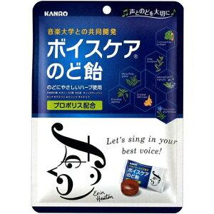 【☆】カンロ株式会社 ボイスケアのど飴 70g入×12袋セット[個包装タイプ]<音楽大学との共同開発>