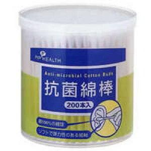 ピップ抗菌綿棒 200本入(衛生雑貨)