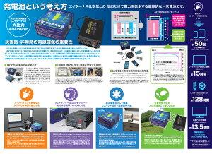 ダブルエー災害非常用発電池エイターナスAセット<電池本体1個+付属インバータ1台>