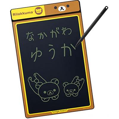 【宅配便】キングジム 電子メモパッド リラックマ Boogit Board<ブギーボード/8.5インチ> BB-1RK