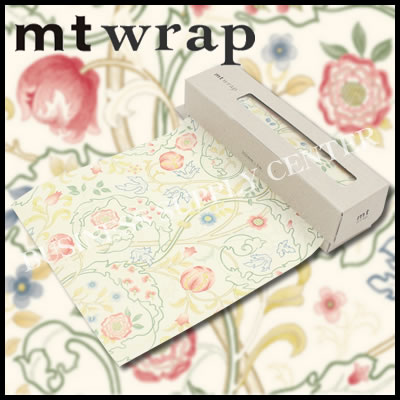【宅配便】★2017年3月新作★カモ井 ロール紙 mt wrap(William Morris・Mary Isobel)<Sサイズ/155mm幅> MTWRMI35 ラッピングペーパー