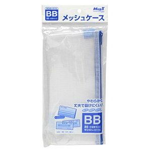 マグエックス メッシュケース (通帳・小切手) MMC-BB-B 00020959 【まとめ買い10セット】