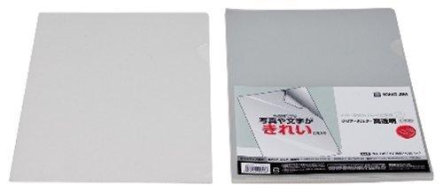 キングジム クリアーホルダー高透明A4S 735T10トウ 00062577 【まとめ買い5セット】