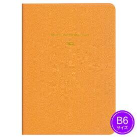 【ネコポス可能】《2020年1月始まり》ダイゴー MILL(ミル) NEON マネジメント<B6判> オレンジ E7432 手帳/ダイアリー/スケジュール帳