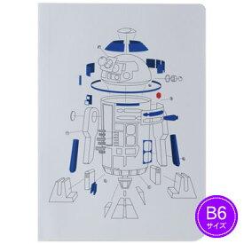 【ネコポス可能】ダイゴー スター・ウォーズ エピソード8/最後のジェダイ B6ノート EngineeringDrawing R2-D2 R1449