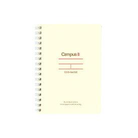 【宅配便】コクヨKokuyo ス-T150B-R キャンパスツインリングノートFSC認証ミニサイズA6中横罫50枚 10冊