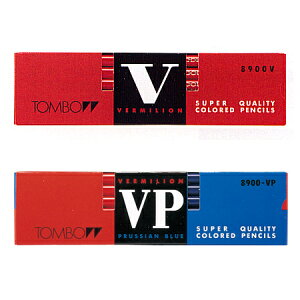 Tomboトンボ鉛筆 8900-V○ 赤/赤青鉛筆(12本)