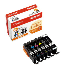 キヤノン インクカートリッジBCI-381+380/6MP 6色