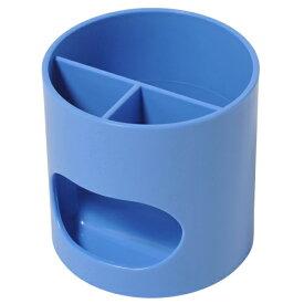 プラス(PLUS)ペン立て ウィッティ・パーティ ペンスタンド ブルー WP-110N 30756