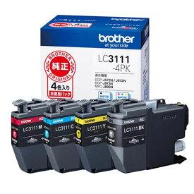 ブラザー インクカートリッジLC3111-4PK