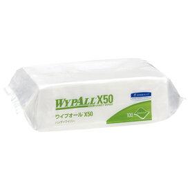 ワイプオール ワイプオールX50 ハンディワイパー 100枚入