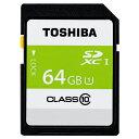 TOSHIBA SDHCメモリカード 64GB SDAR40N64G