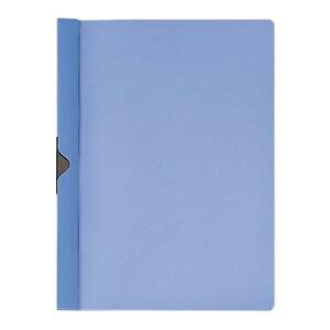 プラス(PLUS)スライドクリップファイル A4-S 20枚とじ ブルー FS-141PH